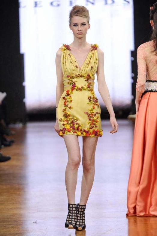 Legends by Bilal Barrage Haute Couture весна-лето 2014, фото № 20