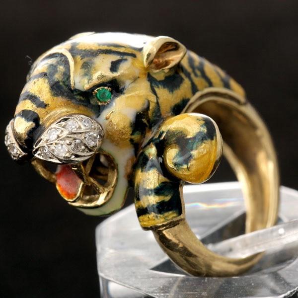 тигр кулон