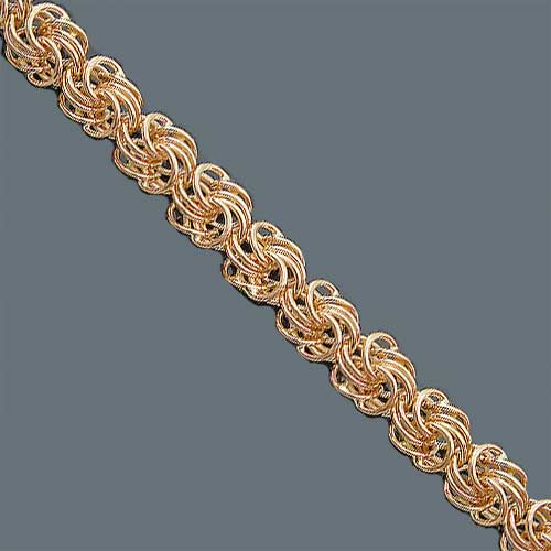 золотые браслеты плетение ромб