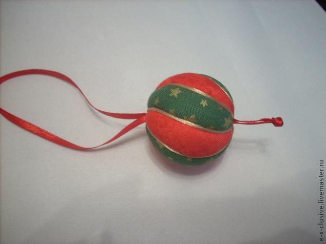 Елочные шары в технике кимекоми, фото № 17
