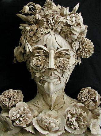 David Esterly. Резьба по дереву. Деревянная скульптура шестая