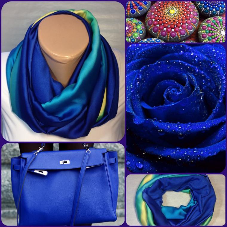 круговой шарф