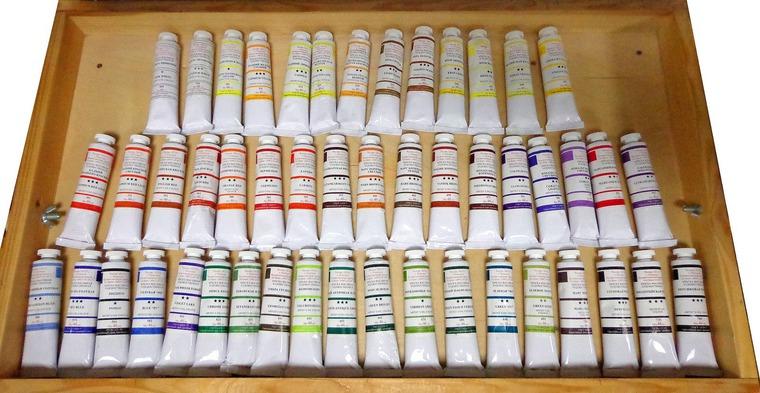 краски масляные, подольск арт центр, товары для живописи