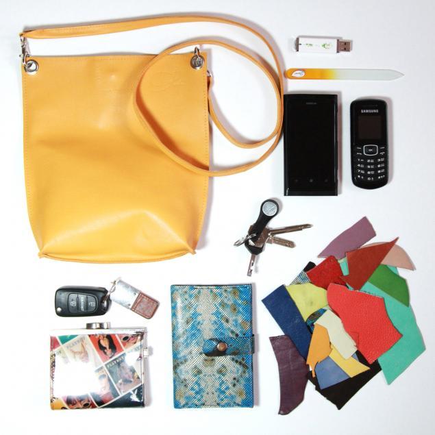 кожаная сумка, небольшая сумка, сумка желтого цвета, маленькая сумка, вместительная сумка, сумка на ремешке, желтая кожаная сумка