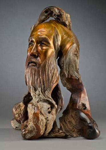 J. Christopher White.  Изящные деревянные скульптуры. Двадцать шестая
