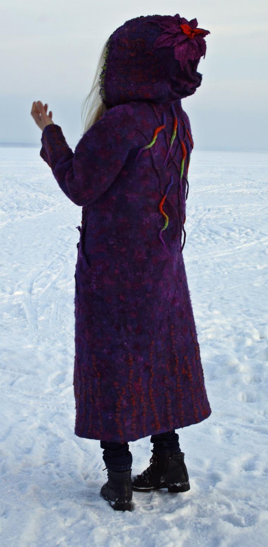 войлочное пальто