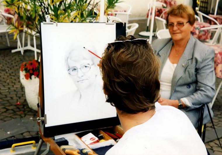 портрет на заказ, живопись, история