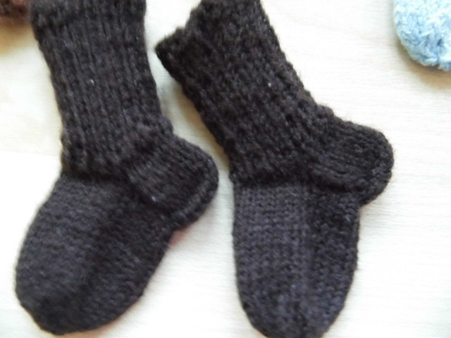 носки для куклы