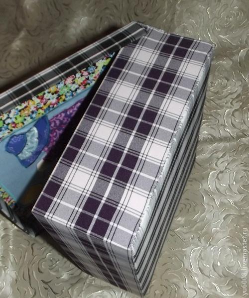 Картонная упаковка для новогоднего подарка