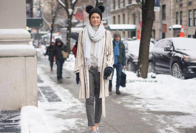 Модные образы зимы 2017 на каждый день