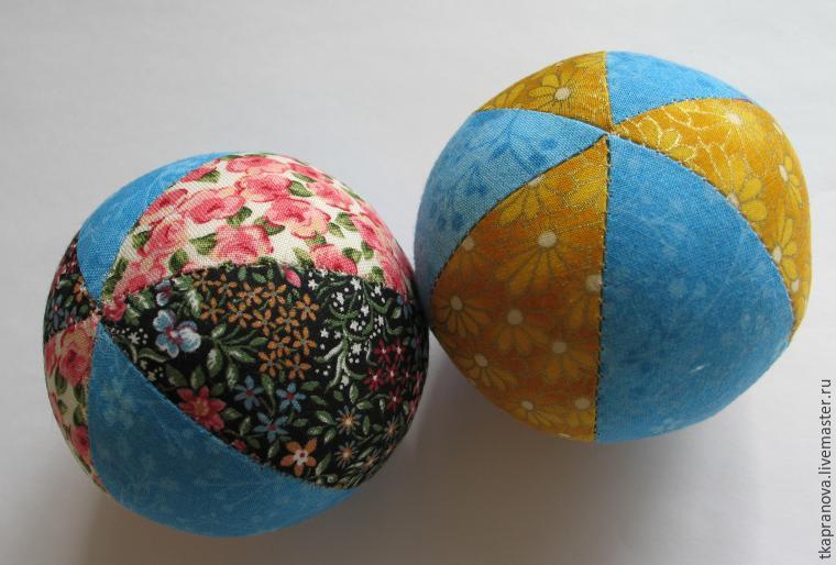Как сделать своими руками мячик из ткани
