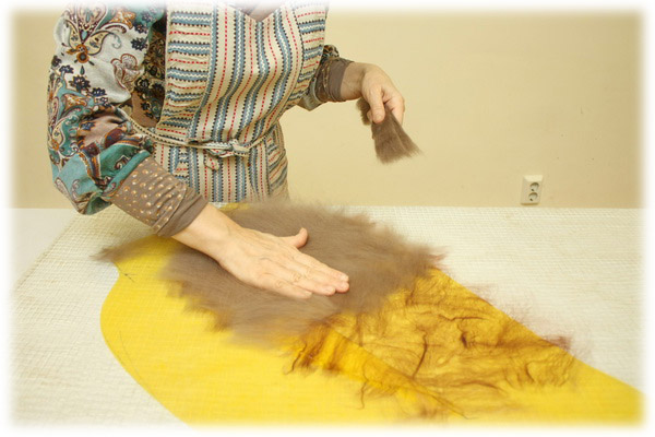 From Simple to Complex: Felting a Jacket with a Yoke, фото № 6