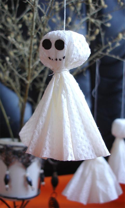 Украшения на хэллоуин своими руками видео
