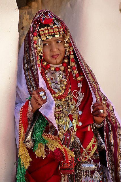 Traditional Libyan dress