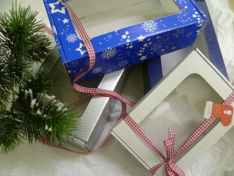 коробка, упаковка новый год 2015