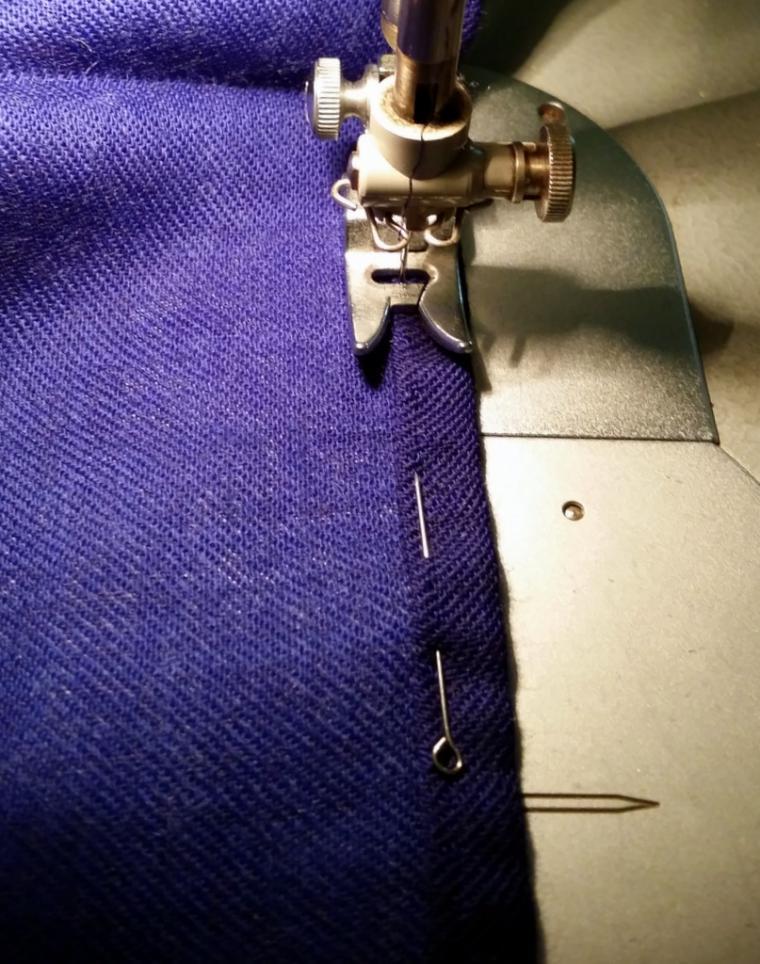 как сшить юбку из платка