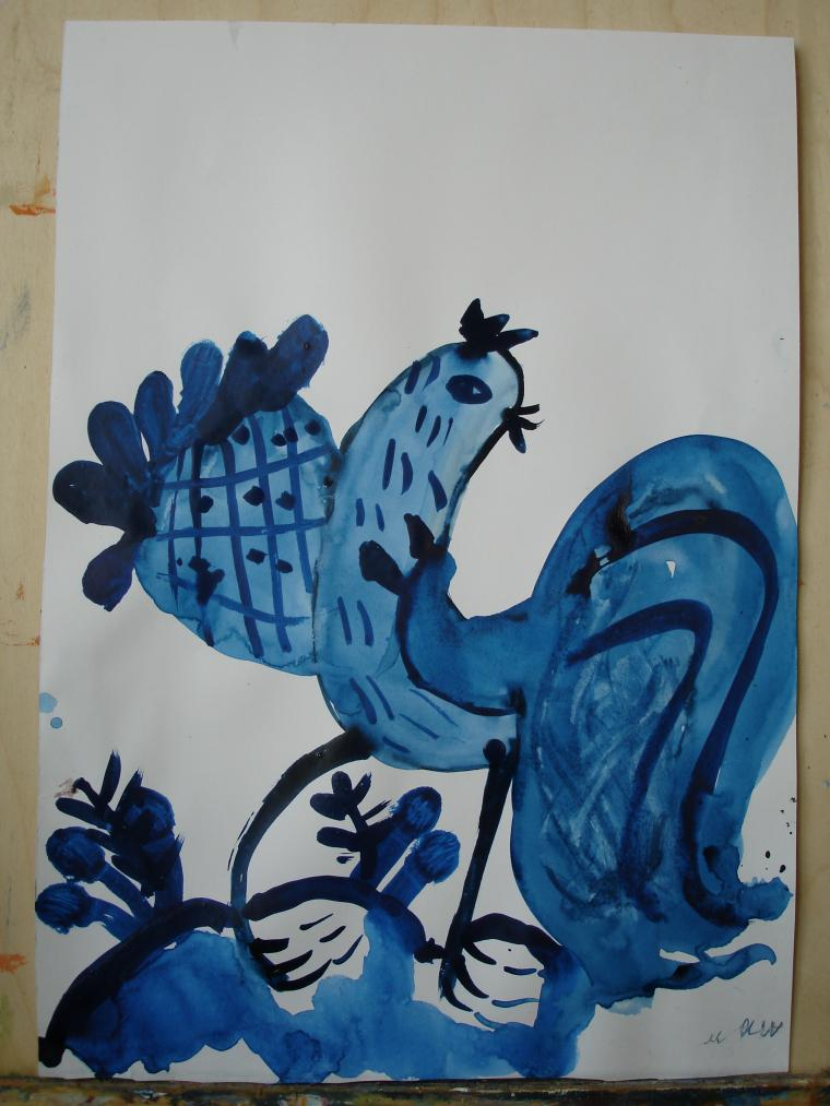 мастер-класс, живопись мастихином