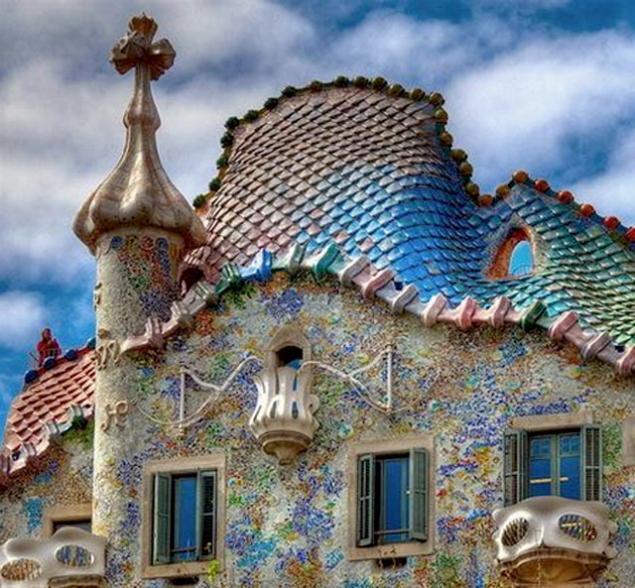 представление крыши сказочных домиков картинки чего