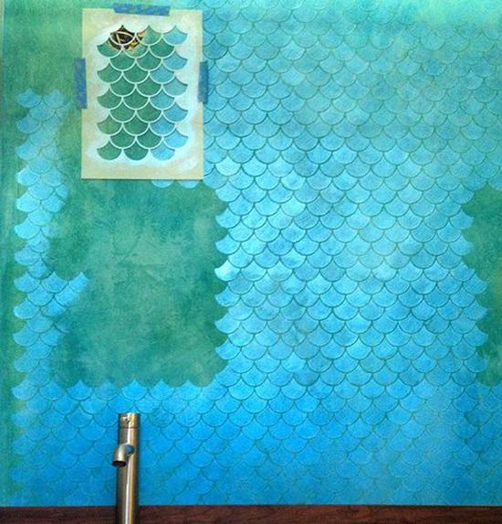 Колоритно и фактурно 20 креативных идей для декора стен и пола, фото № 17