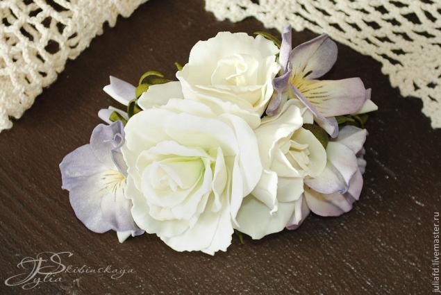 фоамиран, мастер-класс по цветам, мастер-класс, цветы ручной работы, цветы, розы, анютины глазки
