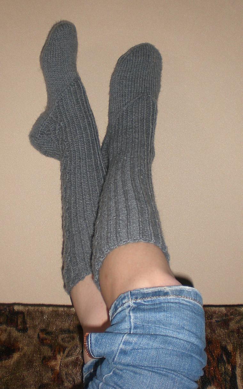 носочки спицами