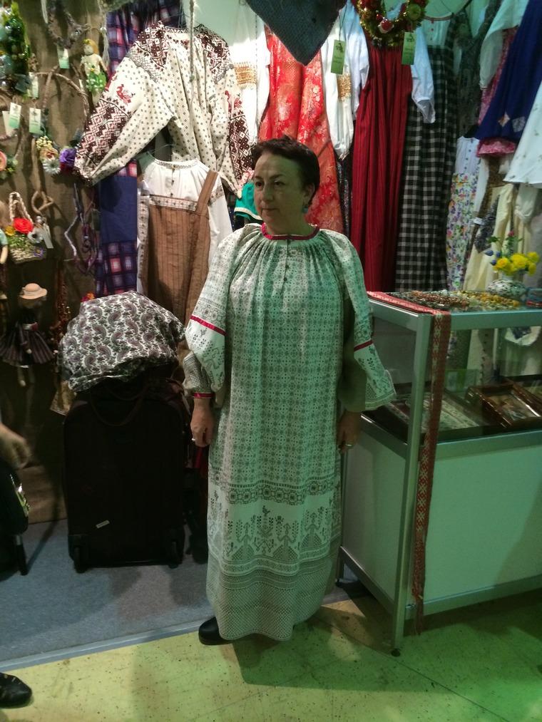 русский костюм, одежда ручной работы, народная традиция