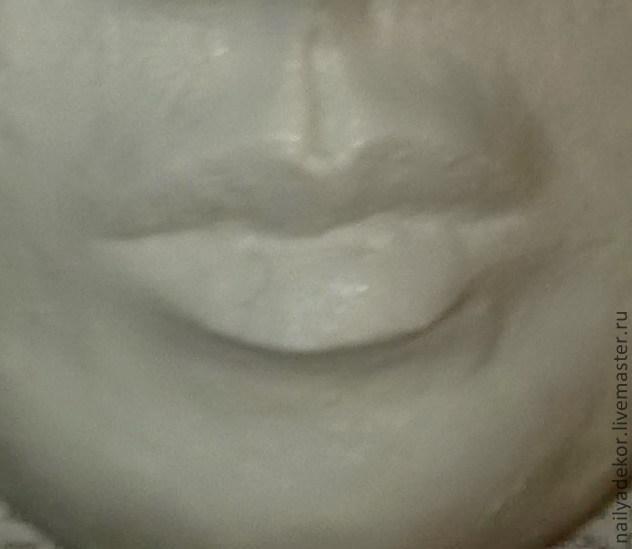 Изготовление венецианской маски с перьями.Техника папье-маше., фото № 7