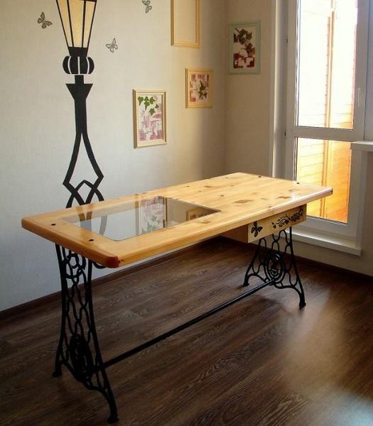 Своими руками из старого стола дизайнерский стол