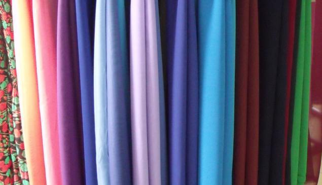 образцы тканей для одежды