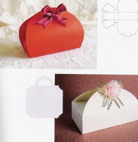 Как сделать упаковочную коробку для подарка