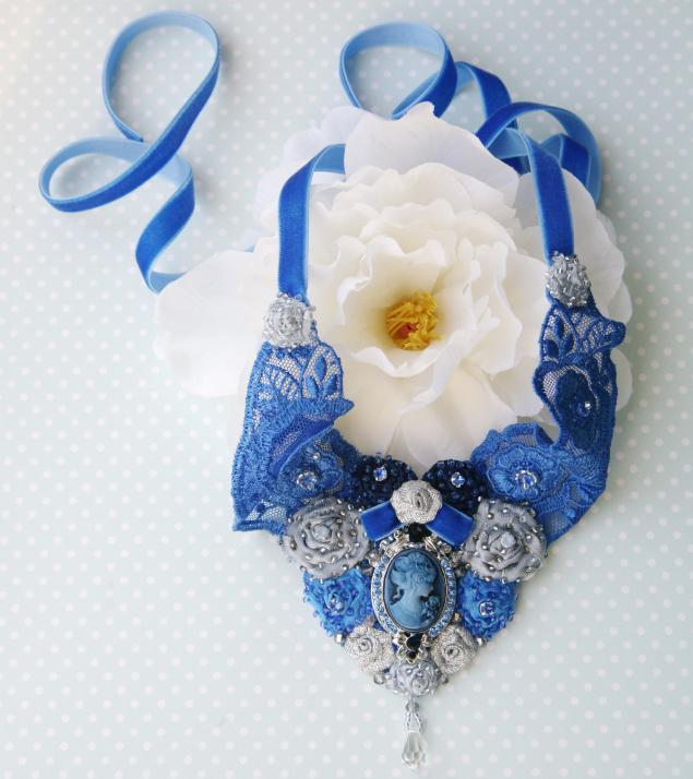 невеста, ожерелье