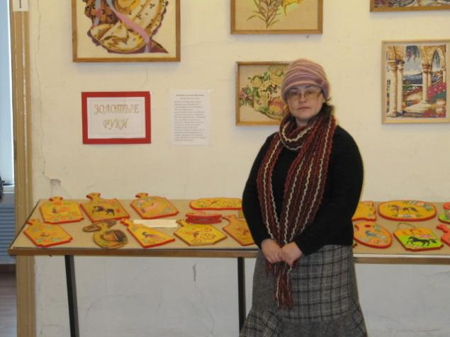 выставка, народное творчество, городецкая роспись, роспись по дереву