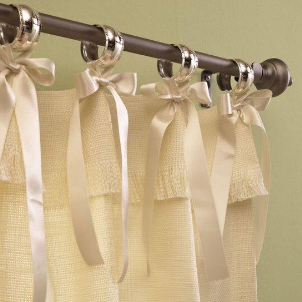 Льняные шторы своими руками мастер класс