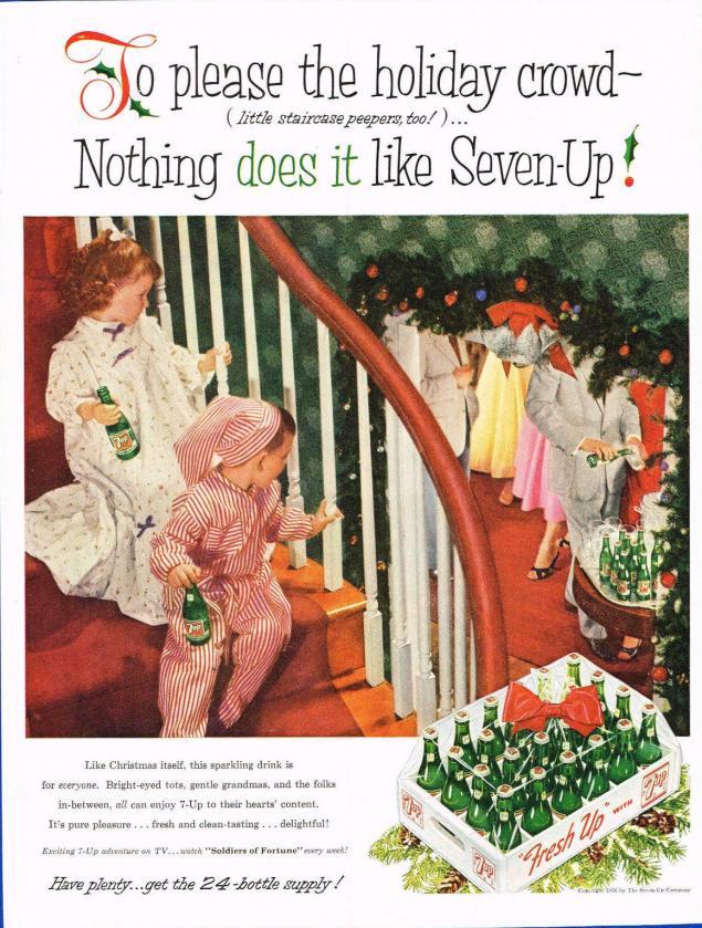 Новогодняя реклама Vintage/1951 -1956 включительно, фото № 52