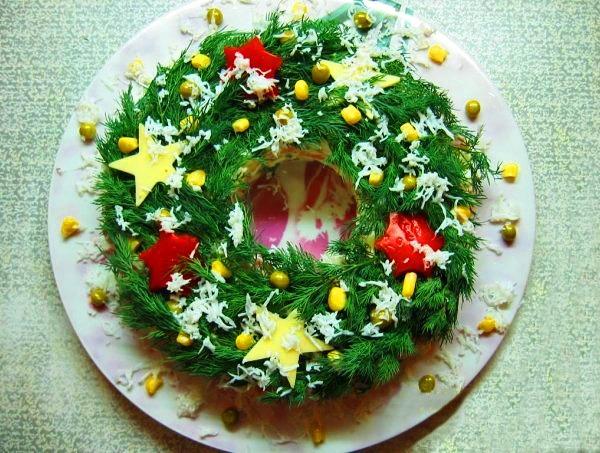 Рецепты салатов новогодних