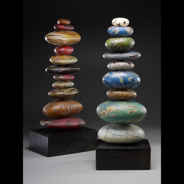 Камни стеклянные для интерьера