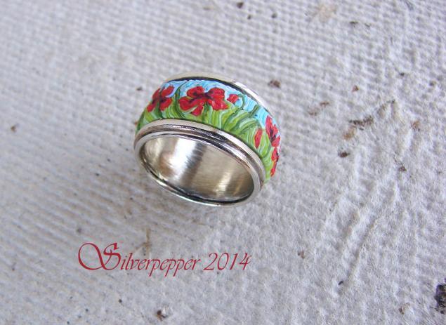 кольцо, полимерная глина
