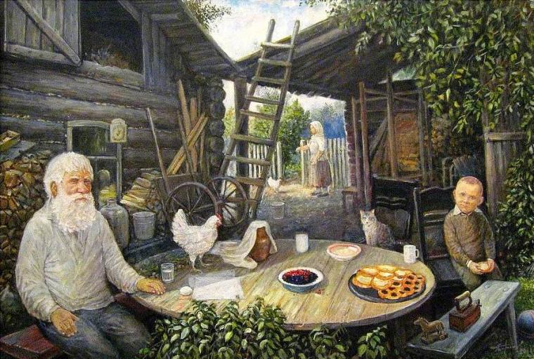 живопись леонида баранова