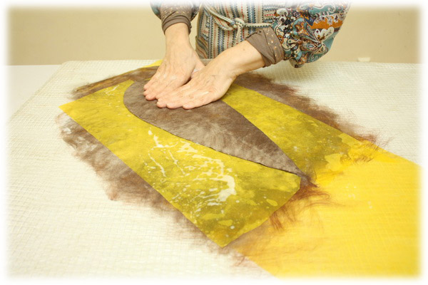 From Simple to Complex: Felting a Jacket with a Yoke, фото № 13