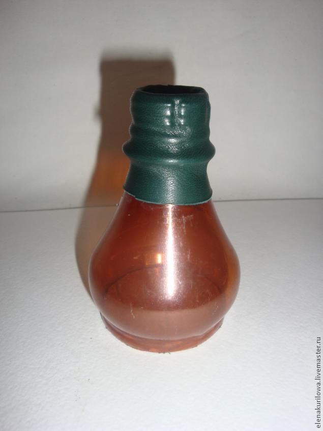 вазочка из кожи