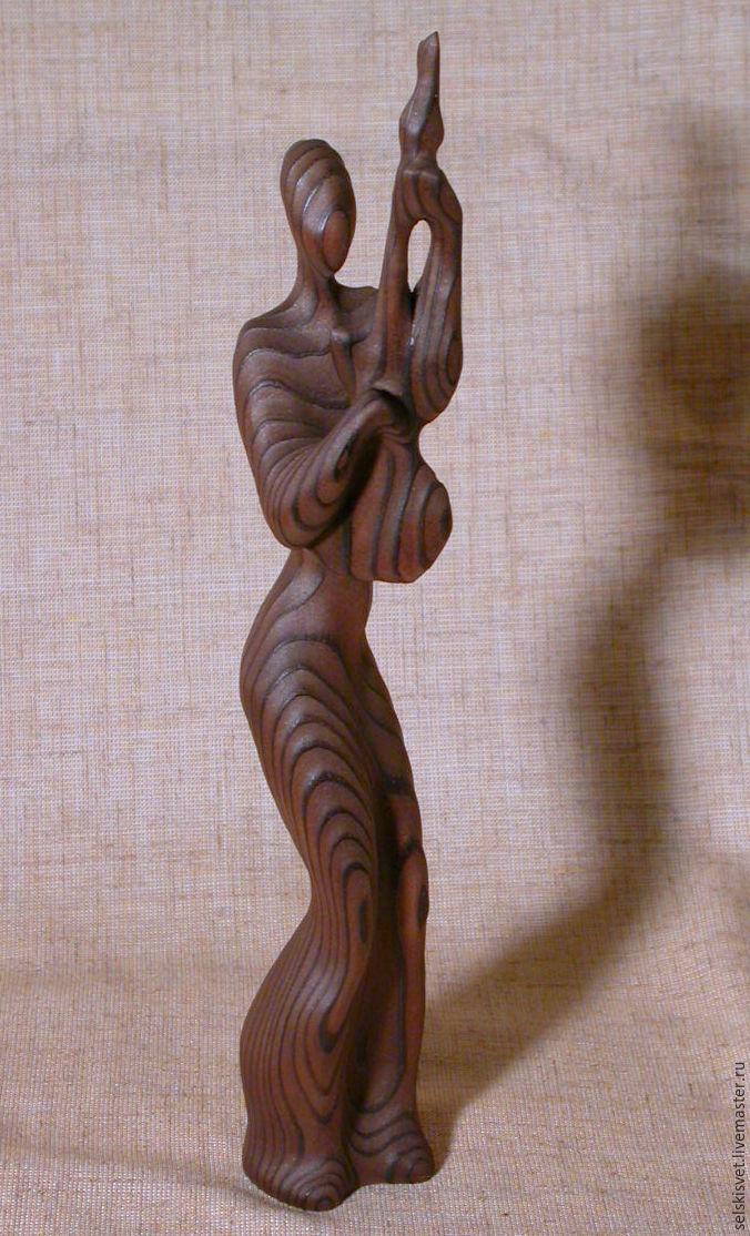 скульптура, обработка древесины