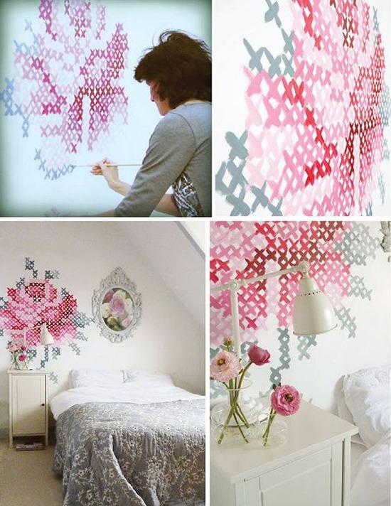 Колоритно и фактурно 20 креативных идей для декора стен и пола, фото № 39
