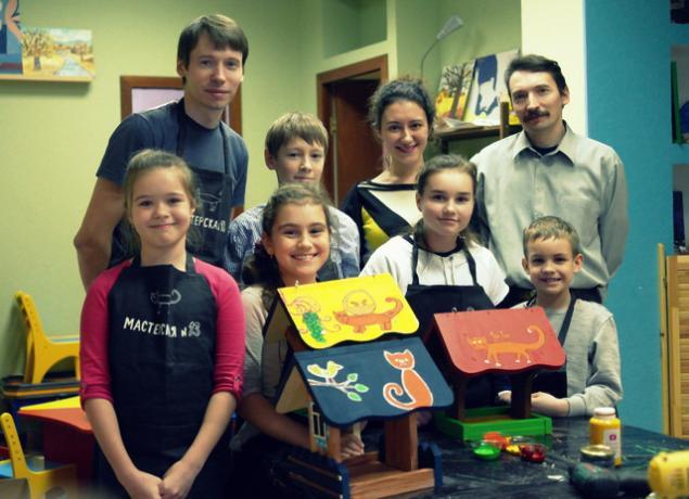 Отчет о мастер-классе по кормушкам от Мастерской №13, фото № 12