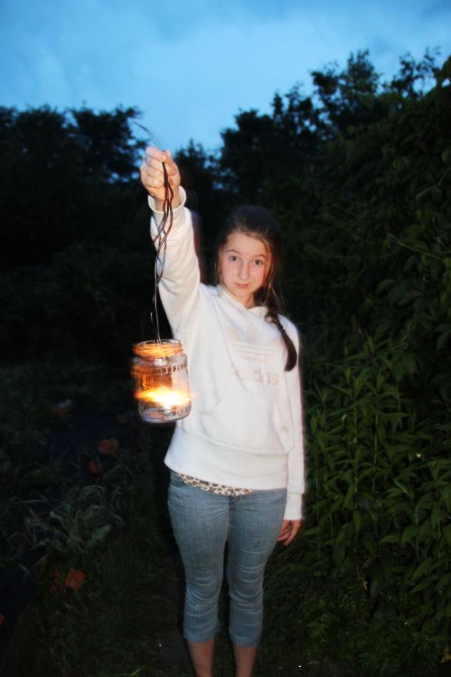 светлячки, свечи