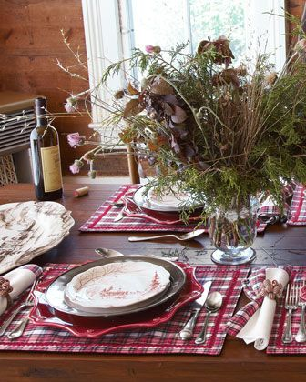 placemats make this table!