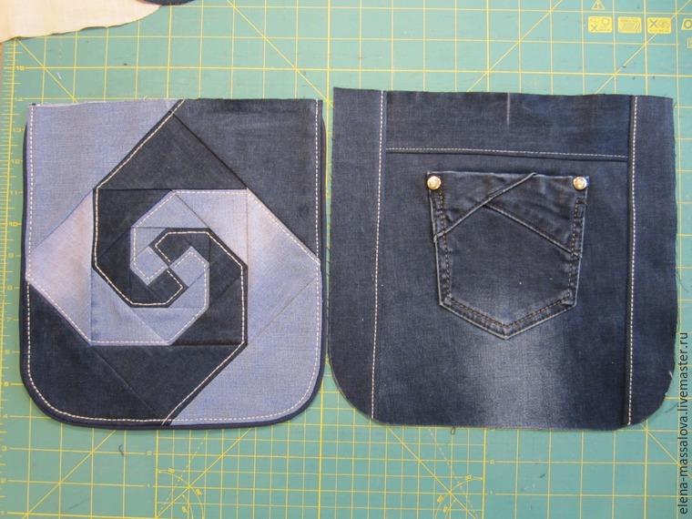 Как сшить сумочку своими руками с джинсов