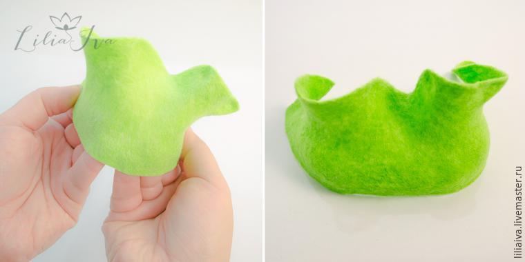 Шьем шапочку-капусту для детского капустника, фото № 9