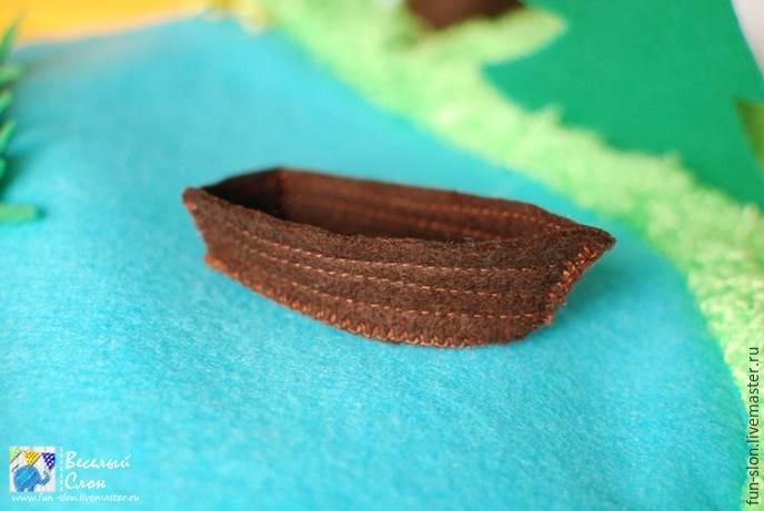 Шьем яркий и реалистичный игровой коврик из фетра, фото № 43