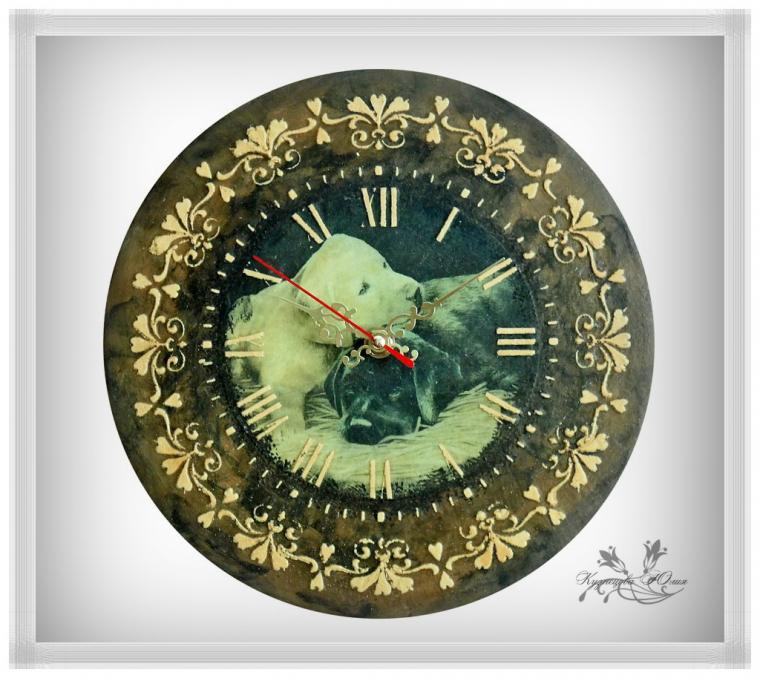 новое поступление, часы настенные, имитация камня