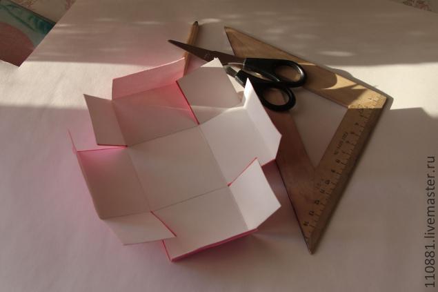 Как сделать легко и быстро коробочку из бумаги